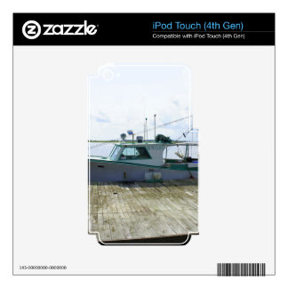 Papas Boat Skin For iPod Touch 4G