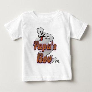 Papa's Boo Halloween Ghost Tee Shirt