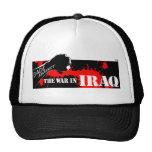 Papás contra la guerra en Iraq Gorros Bordados