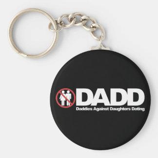 Papás de DADD contra fechar de las hijas Llaveros