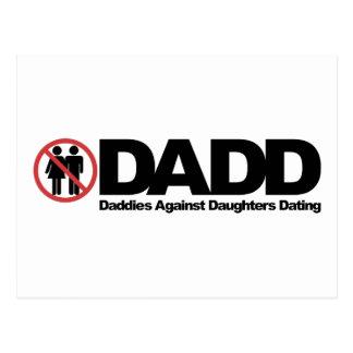 Papás de DADD contra fechar de las hijas Postal