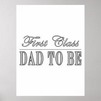 Papás elegantes de la diversión a ser papá de la p posters