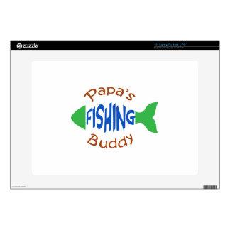 Papas Fishing Buddy Laptop Skins