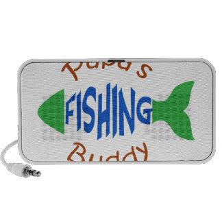 Papas Fishing Buddy Portable Speaker