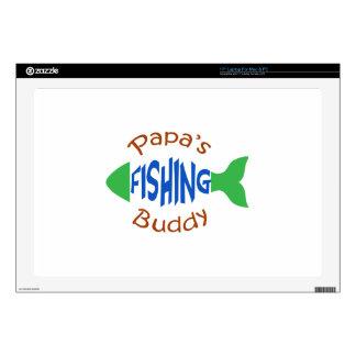 """Papas Fishing Buddy Skin For 17"""" Laptop"""
