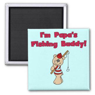 Papa's Fishing Buddy Tshirts and Gifts Magnet