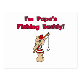 Papa's Fishing Buddy Tshirts and Gifts Postcard