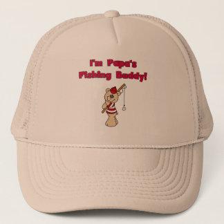Papa's Fishing Buddy Tshirts and Gifts Trucker Hat