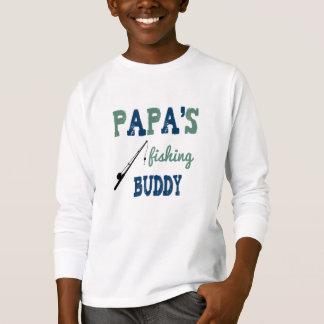 Papa's Fishing Buddy Unisex Kids Tee