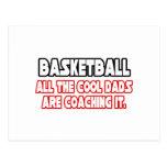 Papás frescos del baloncesto… tarjetas postales