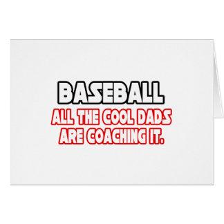 Papás frescos del béisbol… felicitacion