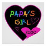 Papa's Girl Tees, Hats, Mugs, Buttons, clothing Posters