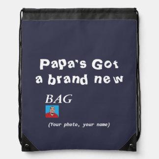 Papa's Got a Brand New Bag - Custom Backpack