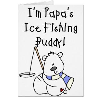 Papa's Ice Fishing Buddy Card