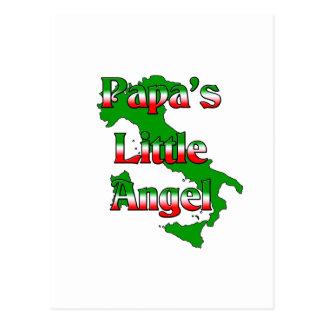 Papa's Little Angel Postcard