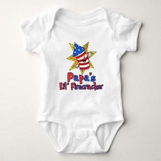 Papa's Little Firecracker Baby Bodysuit