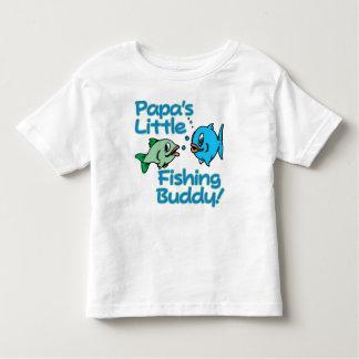 PAPA'S LITTLE FISHING BUDDY! TODDLER T-SHIRT