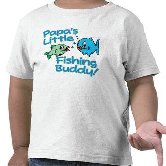 PAPA'S LITTLE FISHING BUDDY! TEE SHIRTS