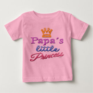 Papa's Little Princess Baby Toddler T-Shirt