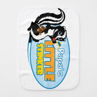 Papa's Little Stinker Burp Cloth