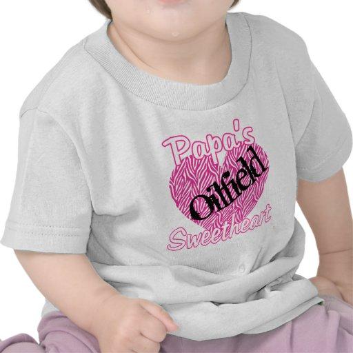 Papa's Oilfield Sweetheart Tshirts