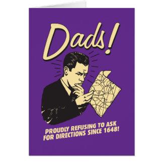 Papás: Rechazo pedir direcciones Tarjeton