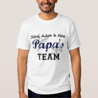 Papa's Team T Shirt