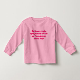 Papa's Wrapped (Pink) Toddler T-shirt