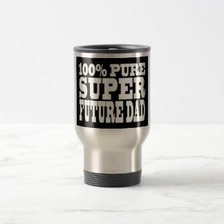 Papás y padres a ser Papá futuro estupendo puro d Tazas De Café