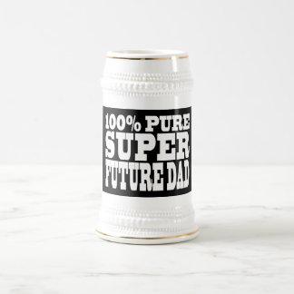 Papás y padres a ser Papá futuro estupendo puro d Taza De Café