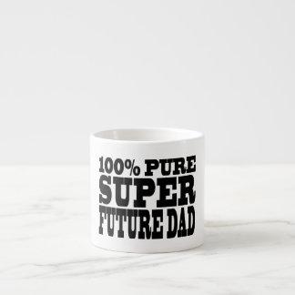 Papás y padres a ser Papá futuro estupendo puro d Tazita Espresso