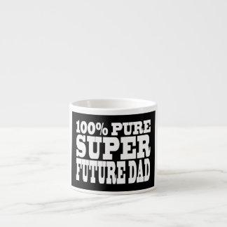 Papás y padres a ser Papá futuro estupendo puro d Tazitas Espresso