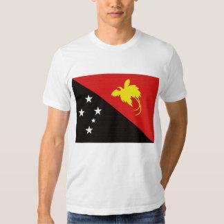 Papau New Guinea's Flag T Shirts
