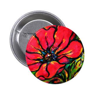 Papaver rojo pin