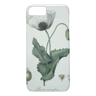 Papaver Somniferum from 'Phytographie Medicale' by iPhone 8/7 Case