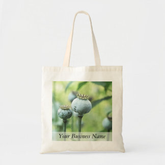 Papaver Somniferum Seed Heads Budget Tote Bag