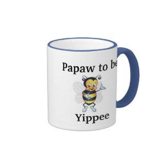 Papaw a ser Yippee Tazas De Café