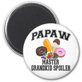 Papaw del alerón del Grandkid Imán Redondo 5 Cm
