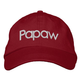 Papaw Embroidered Hat