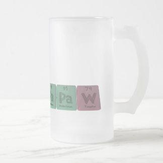 Papaw-Pa-Pa-W-Protactinium-Protactinium-Tungsten.p Coffee Mug