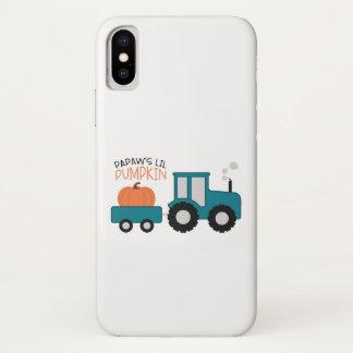 Papaw's Lil Pumpkin iPhone X Case