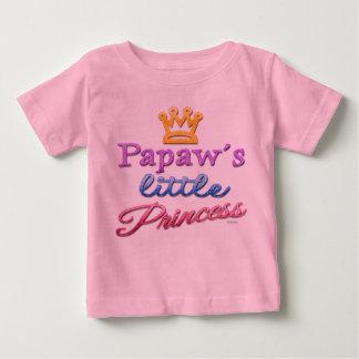 Papaw's Little Princess Baby Toddler T-Shirt