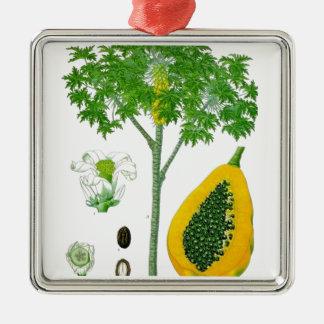 Papaya Ornamento Para Arbol De Navidad