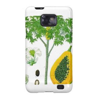 Papaya Samsung Galaxy SII Carcasa