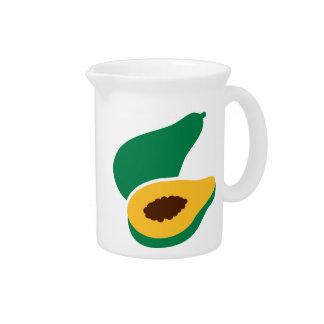 Papaya Jarra Para Bebida