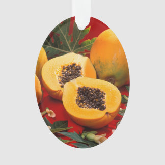Papaya Ornament