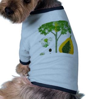 Papaya Camisa De Perrito