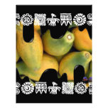 PAPAYAS BACKGROUND PRODUCTS PERSONALIZED LETTERHEAD