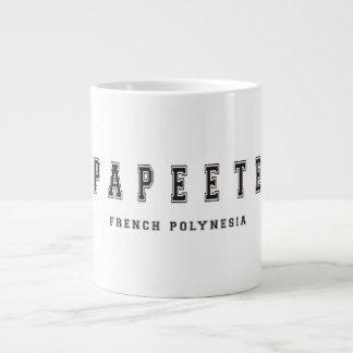 Papeete French Polynesia Giant Coffee Mug