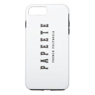Papeete French Polynesia iPhone 7 Plus Case